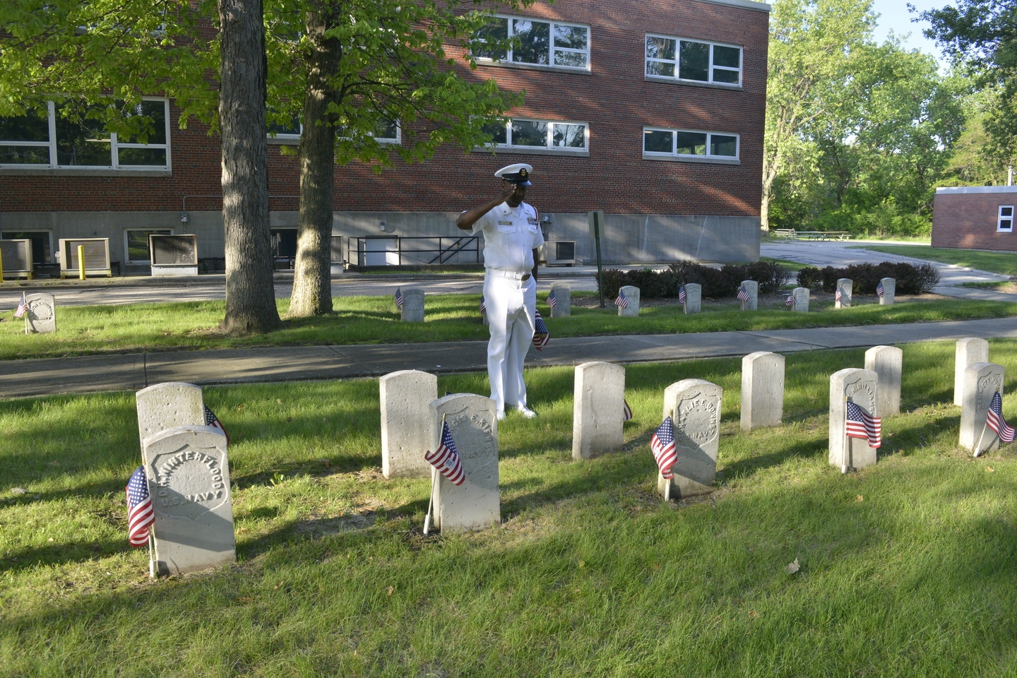 Member FCCM Gilling remembers our Sailors at Great Lakes Base.